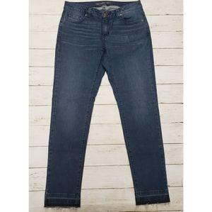 Michael Kors - Izzy Raw Hem Skinny Jeans